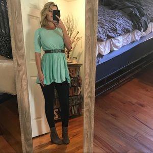 Altered State beautiful oversized shirt dress